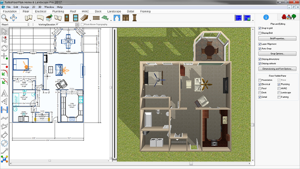 TurboFloorPlan Home and Landscape Pro
