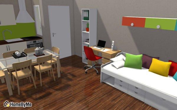 HomeByMe interior design software