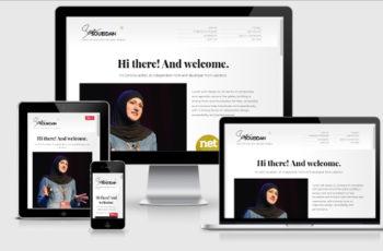 responsive site desing test