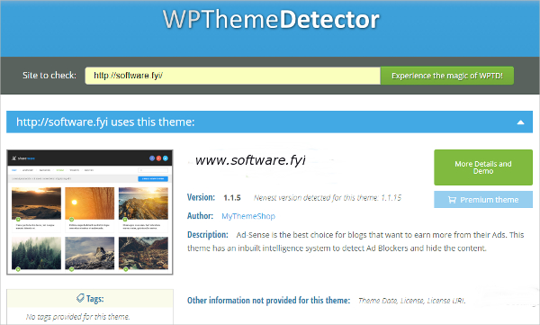 wp detector